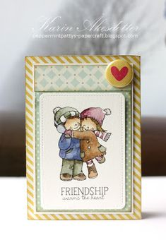 A little late with this year's Valentine's card...   http://theheartdesiresblog.blogspot.se/     http://pennyblackatallsorts.b...