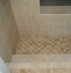 As You Like It Designs LLC: Part Three - The Roman Tub Remodel - The Rest of the Story. Finally figured out what these are called. Corner Bathtub Shower, Walk In Tub Shower, Shower Step, Small Bathtub, Glass Shower, Roman Shower, Sunken Tub, Pull Out Kitchen Faucet, Bathtub Remodel