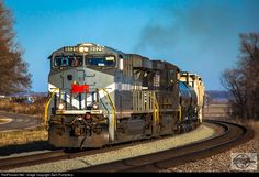 RailPictures.Net Photo: NS 8025 Norfolk Southern GE ES44AC at Fleming, Missouri by Zach Pumphery
