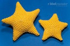 Amigurumi Sterne Stern häkeln (free pattern)