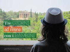 Tre giorni ad Atene con i bambini