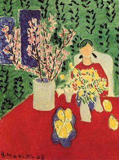 Anjas' Theme Of The Week: Flower week 1: Flowers by Henri Matisse