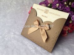 2014 new style Classic European creative elegent  Wedding invitations Cards-in Event & Party Supplies from Home & Garden on Aliexpress.com