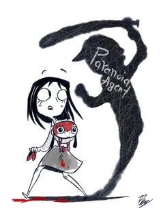 Paranoia AgentOne of the most unique psychological anime I have ever seen I Love Anime, Me Me Me Anime, Jing Ling, Satoshi Kon, Saturday Morning Cartoons, Japanese Film, Manga Artist, Manga Games, Vocaloid