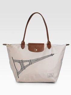 Longchamp + Paris inspiration = closet necessity (RP @Joanna Szewczyk Szewczyk Hawley - Longchamp.com)