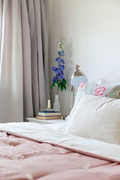 Before and After: My Blush Pink and Grey Bedroom Makeover