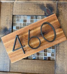 Farmhouse Style Decorating, Farmhouse Chic, Rustic Style, Modern Rustic, Booth Dining Table, Rustic House Numbers, Custom Wood Signs, Wooden Decor, Colour Board