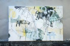 Mayako Nakamura, Kamikirimushi ( revised ) (2010) Oil on canvas, ink, pigment, charcoal 1620x1046x60mm