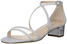 Nina Women's Genji GM Dress Sandal -- Review more details here : Block heel sandals