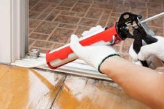 Winterizing Your Home: Window and Door Caulking | DoItYourself.com Home Hacks, Winter Months, Home Improvement Projects, Home Projects, Home Renovation, Home Remodeling, Furnace Maintenance, Energy Efficient Homes, Energy Efficiency