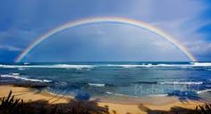 Rainbows and beaches