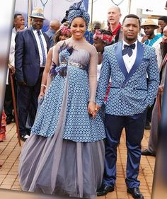 shweshwe traditional dresses You accept to be a allotment of the shweshwe acceptable dresses 2019 that's overextension all around. Sesotho Traditional Dresses, African Traditional Wedding Dress, Traditional Wedding Attire, African Wedding Attire, African Attire, African Outfits, African Weddings, African Wear, Latest African Fashion Dresses