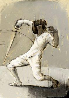 Fencer by Rory Kurtz