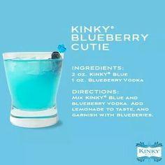 Kinky blueberry cutie