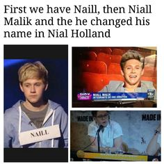 Yep. His real Name is Niall Horan