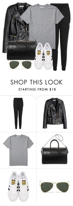 """Sin título #11927"" by vany-alvarado ❤ liked on Polyvore featuring Topshop, H&M, Billabong, Yves Saint Laurent, adidas Originals and Ray-Ban"