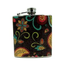 Hee hee... If I were ever out on a frozen lake fishing with a favorite uncle... this would be the flask I'd want to keep my brandy in to sip while we sat and chatted <3