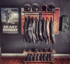 20 ideias de decoração para os apaixonados por motos! Blog Bugre Moda / Imagem: Reprodução