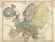 Map of Europe, Cedid Atlas.More old maps of Europe >>