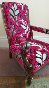 Love this reupholstery!