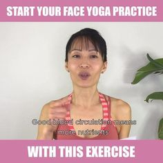 facial yoga Just 3 sets of this easy pose for 10 seconds each, will boost blood circulation (making nutrients and oxygen flow to the skin) to the entire face and cheeks! Click the link to get FREEBIE and start your Face Yoga Method journey! Yoga Facial, Facial Yoga Exercises, Face Exercises Cheeks, Face Lift Exercises, Yoga Videos, Workout Videos, Workouts, Power Yoga Video, Yoga Skin
