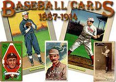Baseball cards (1887-1914) Library of Congress