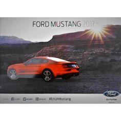 Ford Mustang 2017. Catálogo Publicitario 100% Original de agencia. Consta de 18 páginas impresas a color con excelentes fotografías en papel mate. Se encuentra en perfecto estado. Precio especial por introducción: $150.00 pesos + gastos de envío. Más información: https://www.facebook.com/roadstercom-1442408359122301/ o en la página web http://armando2018.mercadoshops.com.mx/ford-mustang-2017-catalogo-publicitario-100-original-146948869xJM