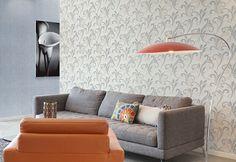 Empapelado flores XXL no tejido EDEM 928-20 Diseño floral abstracto crema beige 10,65 m2