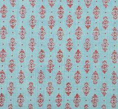 RAJKOT Blue Brick (lisa fine textiles)