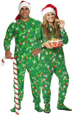 Christmas Onesies. Christmas onesies aren't just for kids anymore. By supersizing your beloved childhood pajamas and turning them into Christmas onesies, we take you back to the days of your youth when Christmas was a simpler time. After all, it wouldn't be a Tipsy Elves Christmas without some adult-themed