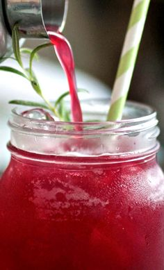 Blackberry Whiskey Lemonade Recipe