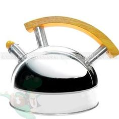 Unique 3.5L Stainless Steel Whistling Tea Water Kettle, Britain - DinoDirect.com