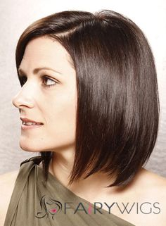 Bouncy Short Straight Full Lace 100% Indian Remy Hair Bob Wigs Real Hair Wigs, Short Human Hair Wigs, Human Wigs, Brunette Bob Haircut, Cheap Full Lace Wigs, Jennifer Aniston Hair, Hair Straightening Iron, Wigs For Black Women, Bob Hairstyles