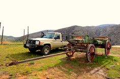 Old alongside new 4x4. Read more about Wagon Wheel 4x4 in the October issue of SA4x4 Magazine
