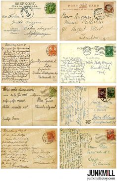 Travel Europe – The Home of Culture – Europe – Visit it and you will love it! Old Stamps, Vintage Stamps, Vintage Labels, Vintage Ephemera, Vintage Postcards, Papel Vintage, Floral Vintage, Vintage Paper, Etsy Vintage