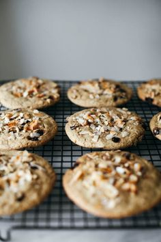 coconut tahini monster cookies + a mega giveaway