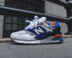 New Balance 878 New York Knicks New York Knicks, New Balance, Shoes Ads, Sneaker Games, Silhouette, Sneakers, Trainers, Footwear, Mens Fashion