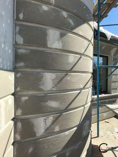 Proiect Casa Rezidentiala Corbeanca 2 – Profile Decorative Exterior Wall Design, Cladding Systems, Boundary Walls, House Map, Building Facade, Construction Design, Cute Illustration, Decoration, Inventions