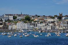 St. Peter Port, Guernsey, UK - part of the Channel Islands