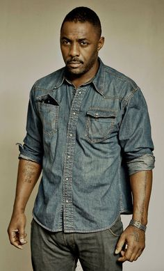 #Idris #Elba in #denim.