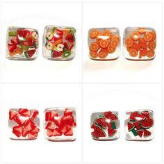 Fabulous Fruit Earrings available at: www.sourcherry.co.uk/earrings/