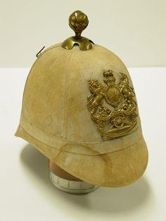 Victorian Era Boer War helmet.