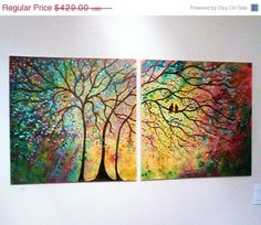 30 off thru Friday X Large Commission Original by jeanvadalsmith, $300.30