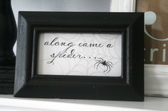 Small frames with cute sayings or descriptions of dessert/food can be great table fillers, $.50-$1