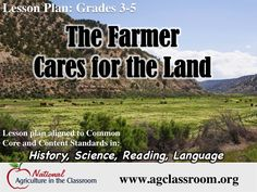 Free lesson plan and activities to teach about land and water resources. Learn the environmental impacts of misusing or mismanaging land and water resources.