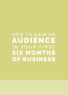 The hardest part of starting a business isn't figuring out finances.  It isn't coming up with offerings, finding your niche, or pricing your  services.  Because all those items will easily fall into place… as long as you have a  loyal, engaged audience.  But how do you grow an audience full