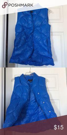 Beyond Yoga Down Vest Beyond Yoga Blue Down Vest Beyond Yoga Jackets & Coats Vests
