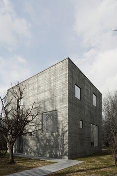 Visualizations of single-family home located in Koziegłowy near Poznań. Architecture : TEŻ ARCHITEKCI