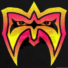 "Ultimate Warrior ""Blazing Mask"" T-Shirt on CafePress.com"