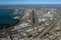 Home Town News?: San Diego Airport is the busiest single-runway airport in the USA, and the second busiest in the world (after London-Gatwick)